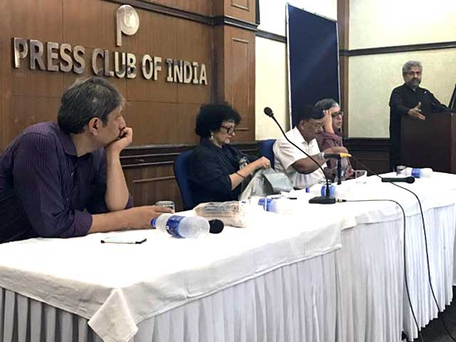 At Press Club Meet, Journalists Talk About Attacks On Media And Dissent