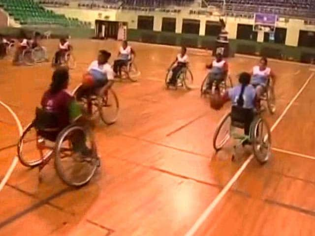 Video : Indian Women's Wheelchair Basketball Team To Compete In Bali Cup