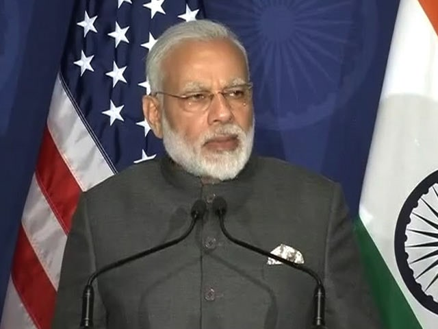 'With Surgical Strikes, India Proved...' PM Narendra Modi in US