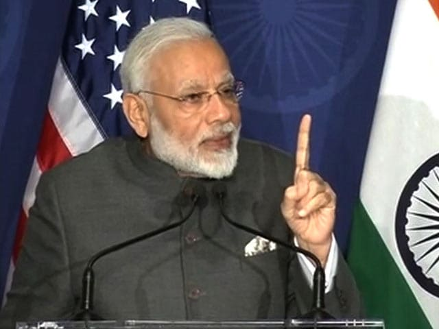 Video : Not A Single Stain On My Government, PM Modi's Pitch In US
