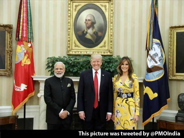 Video : 'Before He Was President...': PM Modi Remembers Donald Trump's Praise