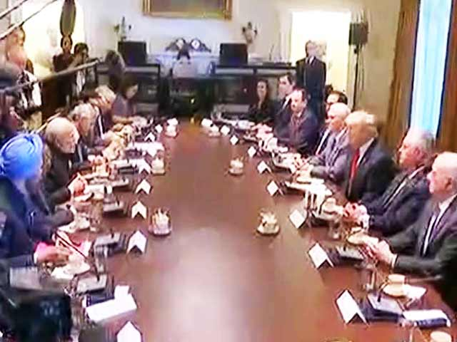 Video : PM Modi, Trump Hold Delegation Level Talks At White House