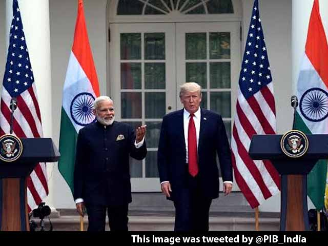 Video : PM Modi And I Are World Leaders In Social Media, Says Donald Trump At White House