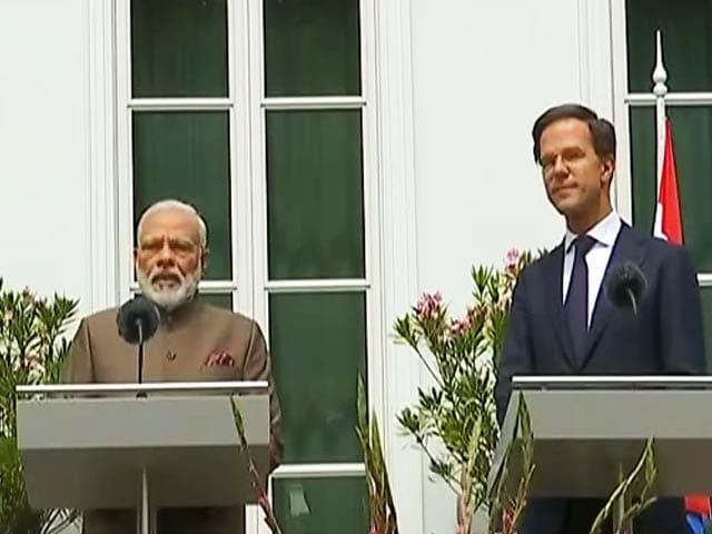 Video : प्रधानमंत्री नरेंद्र मोदी ने नीदरलैंड को बताया 'कुदरती साझेदार'