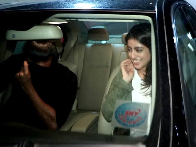Navya Naveli Nanda Spotted On A Movie Date