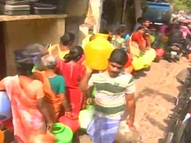Video : Chennai's Water Runs Out, Officials Admit 'Next Few Months Will Be Tough'