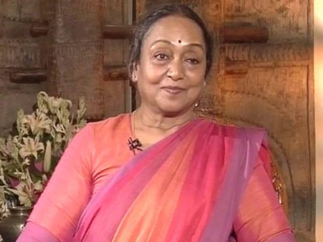 'It's Not A Dalit vs Dalit Battle': Meira Kumar To NDTV