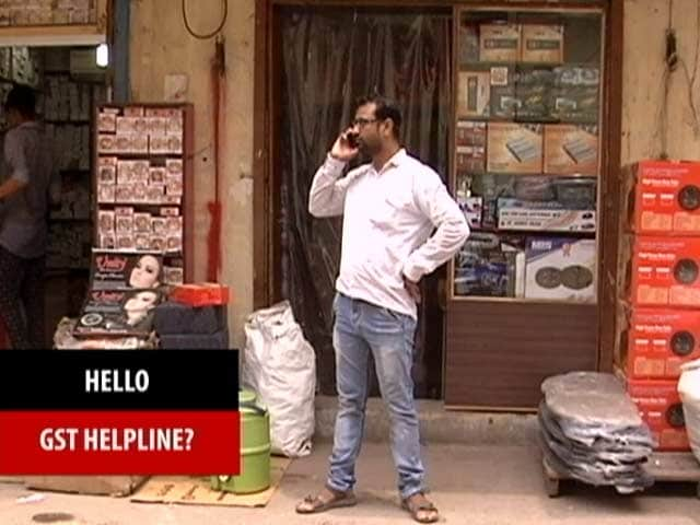 Video : GST: Lack Of Information Big Challenge, Helplines Of Little Help