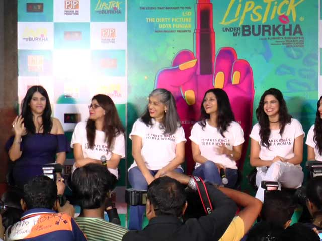 Video : Stars of <i>Lipstick Under My Burkha</i> Speak Up