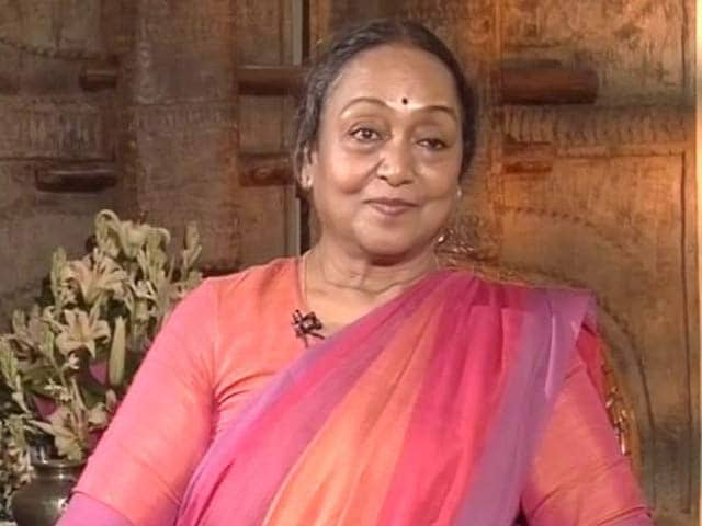 Video : दलित होने के कारण कई बार परेशानी झेलनी पड़ी - मीरा कुमार