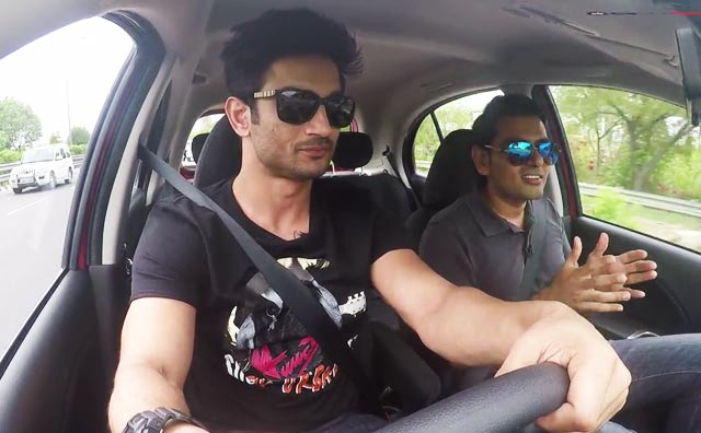 Video : Sushant Singh Rajput Drives The Updated 2017 Micra
