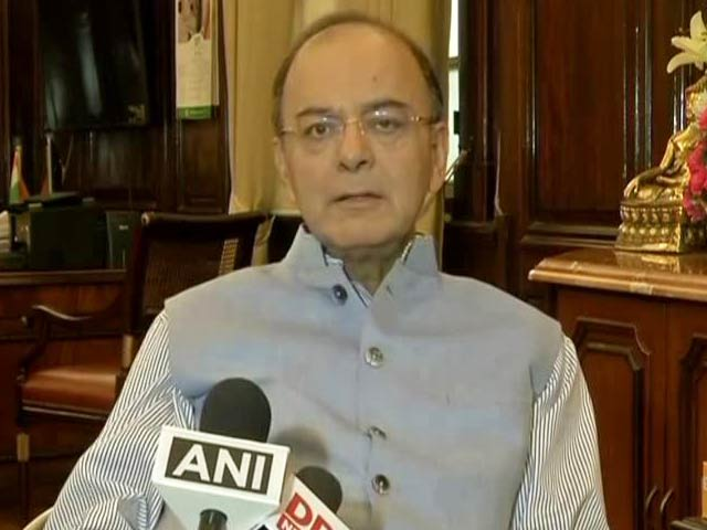 Video : Opposition Must Have Broad Shoulders: Arun Jaitley On GST Launch Boycott