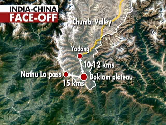 Video : The India-China Stand-off At Sikkim Border Explained In Graphics