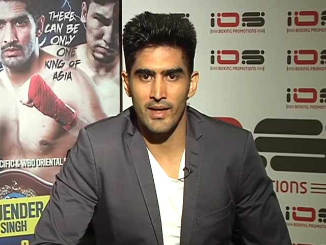 Video : Don't Mess With Any Indian Or India: Vijender's Message to Chinese Opponent