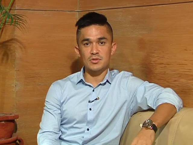 Video : Happy We Are Winning Games, Don't Take Rankings Seriously: Chhetri to NDTV