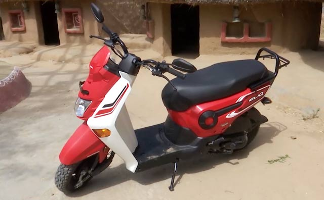 Honda Cliq First Ride