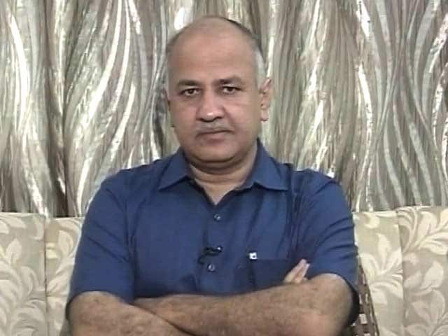 Video : 'What Is There To Celebrate': Manish Sisodia's Takedown Of GST Launch