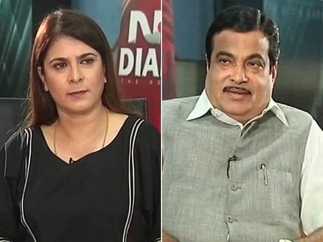 Video : Congress 'Confused, Irresponsible', Says Nitin Gadkari On GST Boycott