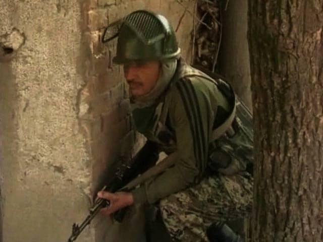 Video : Top Lashkar Terrorist, Involved In Killing Of 6 Kashmir Cops, Shot Dead