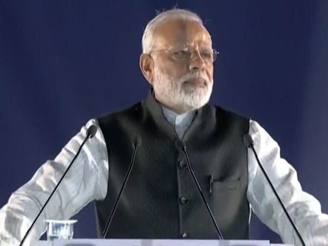 Video : 45 Per Cent Drop In Indians' Deposits In Swiss Banks, Says PM Modi