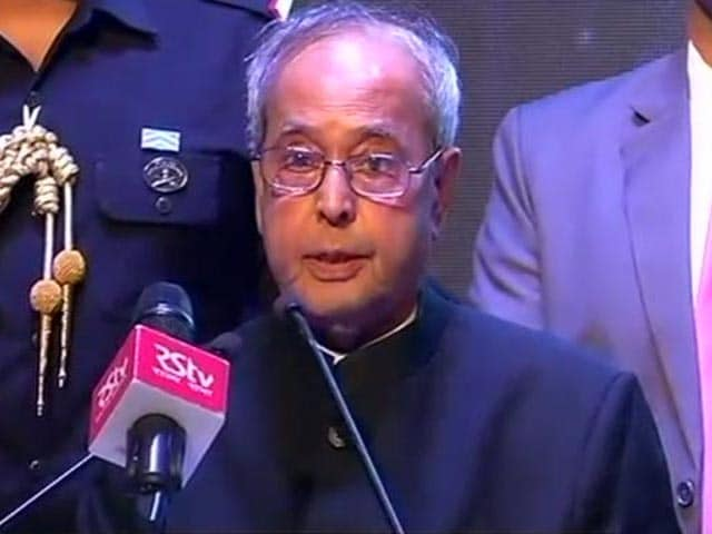 Video : From President Pranab Mukherjee, A Warning On Incidents Of Mob Violence