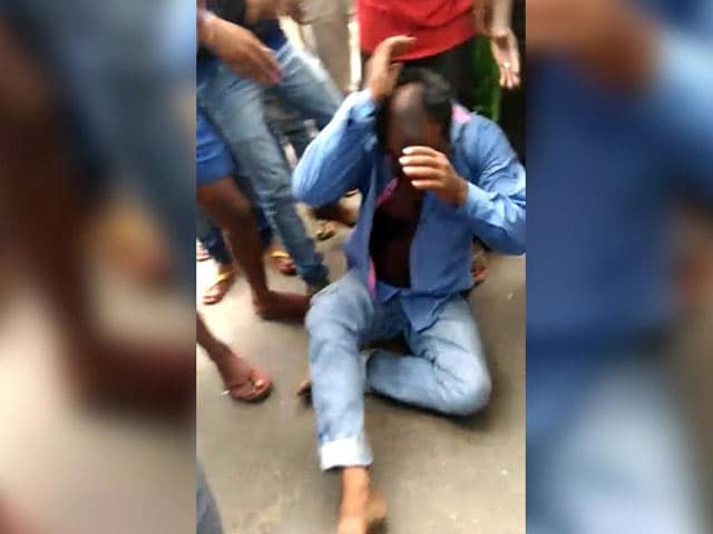 Video : BJP Leader Arrested In Jharkhand Lynching Of Man Accused Of Carrying Beef