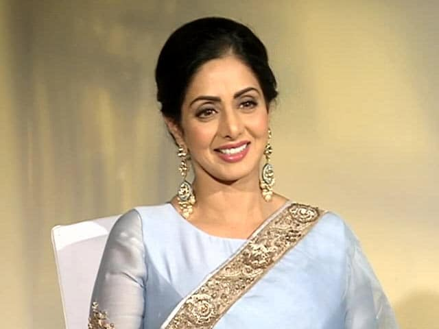 Video : Sridevi Says Still Feels Like  A 'Newcomer' In The Industry