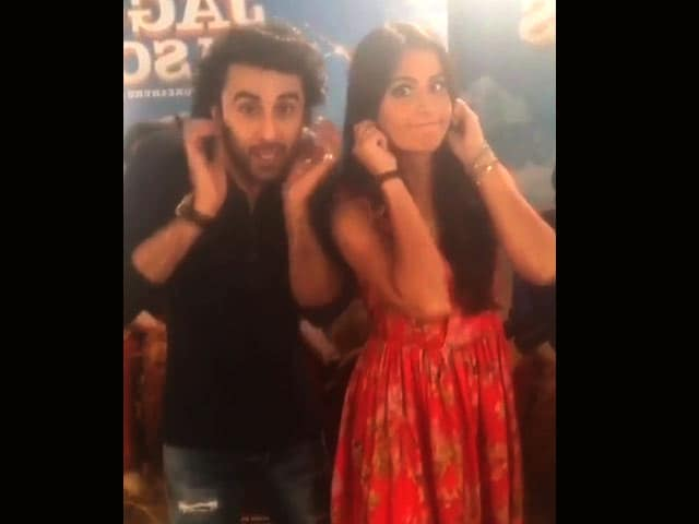Video : Watch: Ranbir & Katrina's Dance Moves From <i>Galti Se Mistake</i>