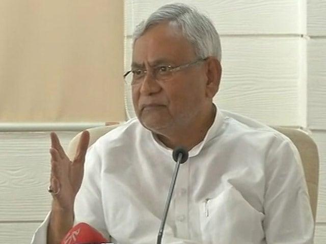 Video : NDTV के पत्रकार से बजरंग दल की जबरदस्ती, CM नीतीश ने निंदा की