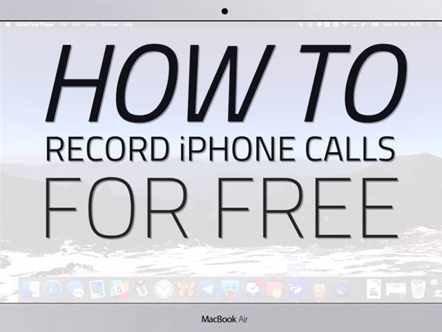 How to Record Calls Made From iPhone