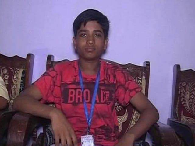 Video : UP Boy Cracks JEE At 15, Becomes One Of The Youngest To Enter IIT