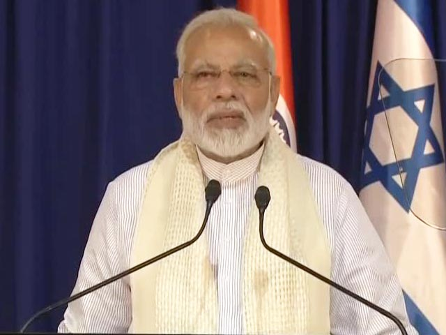 Video : Jews Have Enriched Fabric Of Indian Society, Says PM Modi In Israel