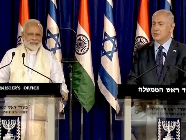Videos : इस्राइल में पीएम मोदी और बेंजामिन नेतन्याहू का साझा बयान