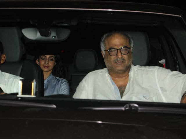 Video : Special Screening Of Sridevi's <i>MOM</i>