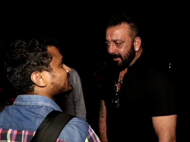Video : This Is Why Sanjay Dutt Is Paparazzi's Favourite Celebrity