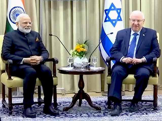 Video : इस्राइल के राष्ट्रपति से मिले पीएम नरेंद्र मोदी