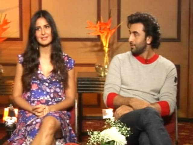 Video : Catch Katrina And Ranbir Absolutely #NoFilter Here