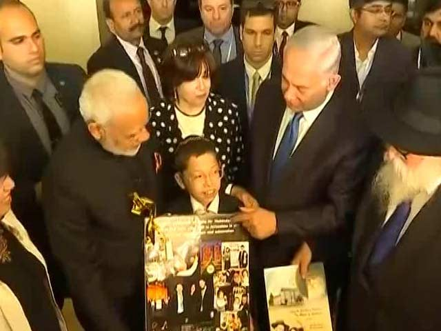 Video : 'Dear Mr Modi, I Love You': When PM Met 26/11 Survivor Moshe In Jerusalem