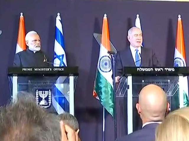 Videos : GOOD EVENING इंडिया : भारत और इजरायल के बीच 7 समझौतों पर दस्तखत
