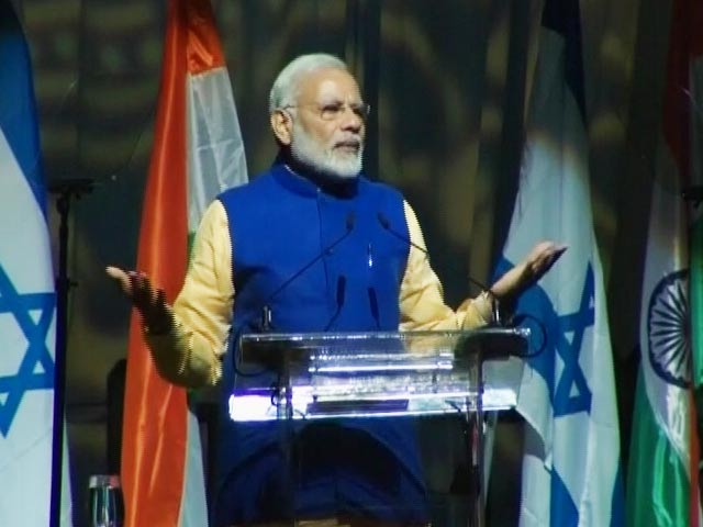 Video : For Israelis of Indian Origin, PM Modi Makes An Exception In OCI Rules