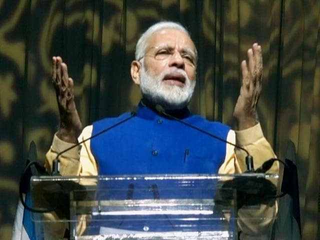 Video : Jews From India Played Key Role In Development Of Israel: PM Modi