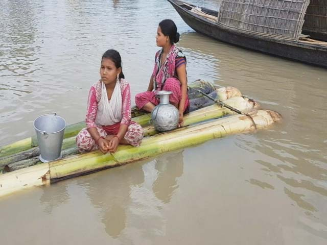 Video : Surrounded By Flood Waters, How Villagers Are Coping In Assam