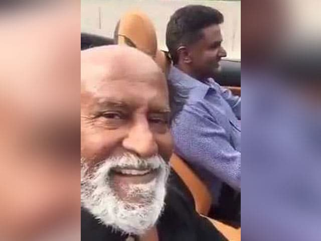 Video : Rajinikanth Records First Ever Selfie Video In A Ferrari