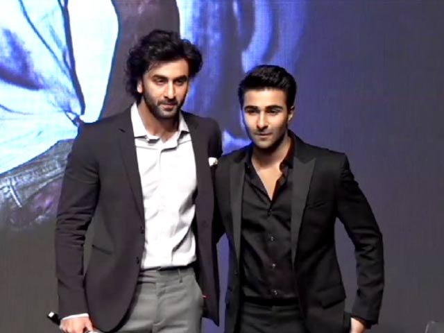 Video : Ranbir Kapoor Introduces His Cousin Aadar Jain