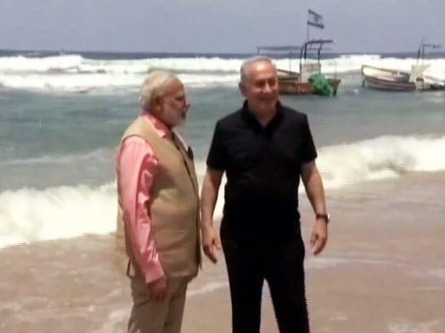 Video : हाइफ़ा में वाटर ट्रीटमेंट प्लांट देखने पहुंचे प्रधानमंत्री नरेंद्र मोदी