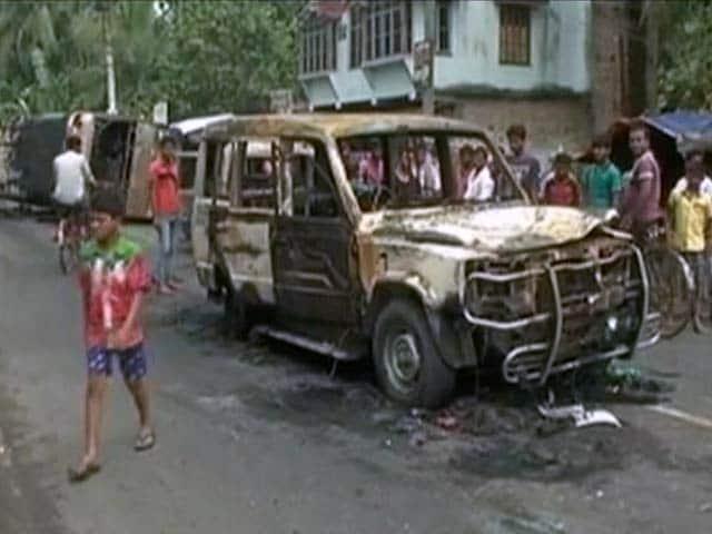 Video : बड़ी खबर : पश्चिम बंगाल में हिंसा की आग