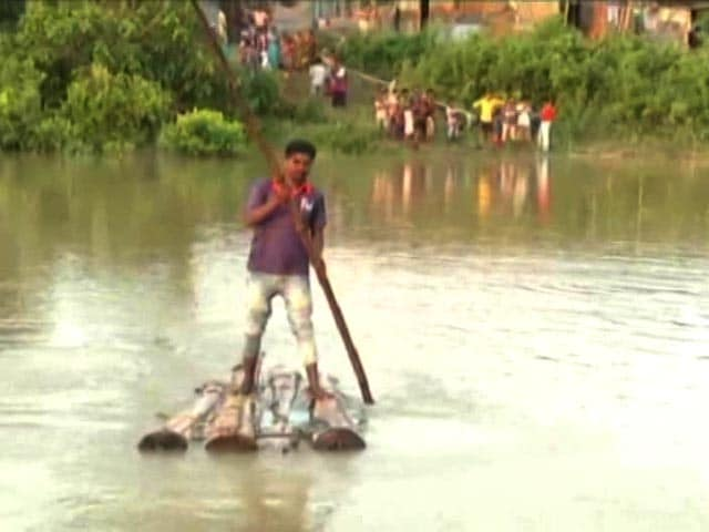 Video : Little Help From Government, Say Stranded Flood Victims In Assam