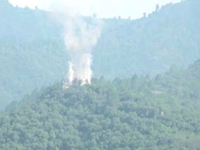 Video : Indian Army Destroys Pak Post Near Line Of Control