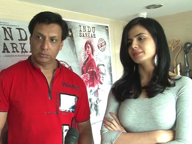 Video : Kiriti Kulhari And Madhur Bhandarkar Talk About <i>Indu Sarkar</i>