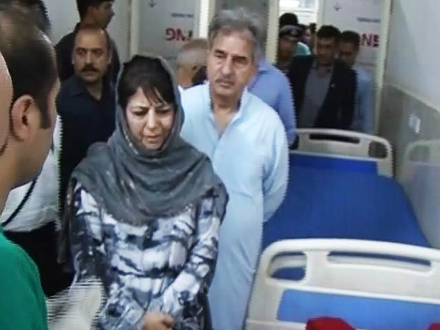 Video : Heads Of Kashmiris Hang In Shame: Mehbooba Mufti On Attack On Pilgrims
